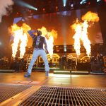 Meek Mills on fire on stage