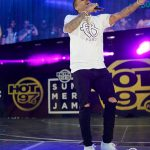 Chris Brown on Summer Jam Stage