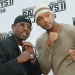 Martin Lawrence & Will Smith at Bad Boys II premiere