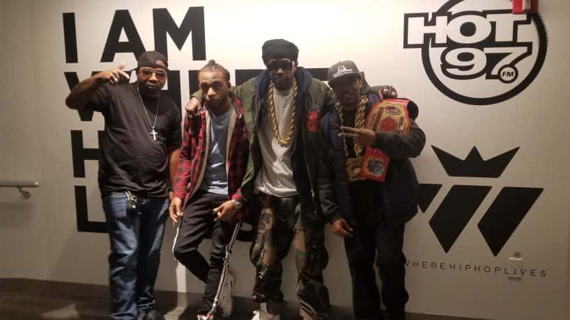 Lost Boyz and Hip Hop Game at HOT 97
