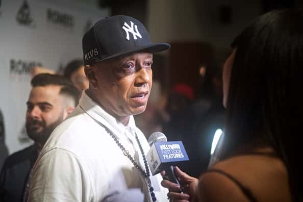 "Executive Producer Russell Simmons attends the premiere of The Film Collaborative's ""Romeo Is Bleeding"" at The Montalban Theater"