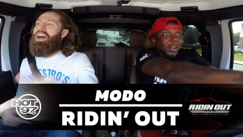 Hot 97 Ridin' Out Freestyles with DJ Magic: Modo