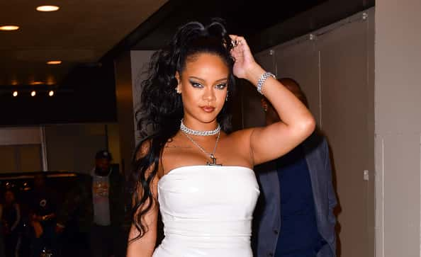 Fabulous Take A Look Inside Rihannas Private Birthday Party In Mexico Hot97 Funny Birthday Cards Online Fluifree Goldxyz