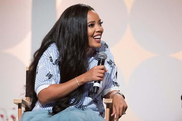 Angela Simmons speaks at the Hollywood's Millennials: International Faith & Family Film Festival Rising Stars panel during MegaF