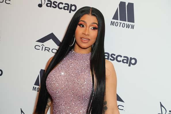 Cardi B attends 2019 ASCAP Rhythm & Soul Music Awards at the Beverly Wilshire Four Seasons Hotel on June 20, 2019 in Beverly Hills, California