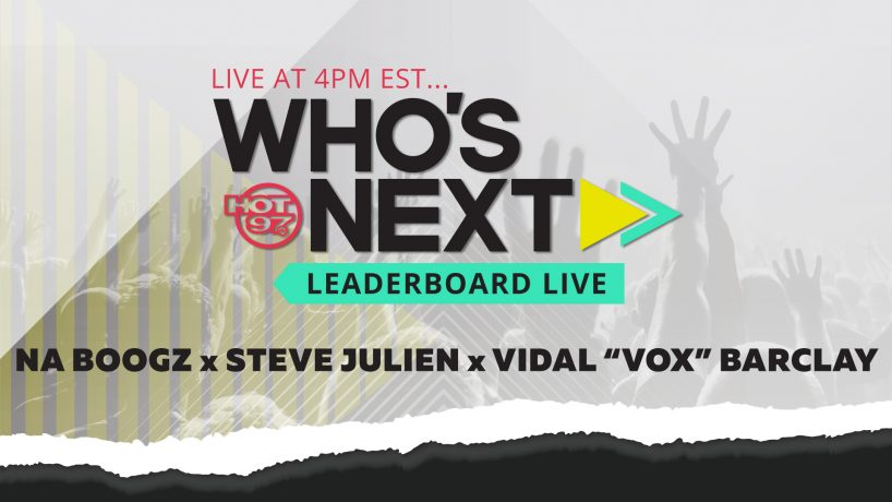 "Who's Next w/ Na Boogz, Steve Julien & Vidal ""Vok"" Barclay"