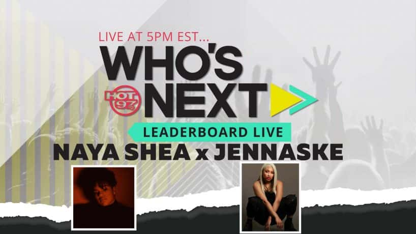 Naya Shea & Jannaske On Leaderboard Live