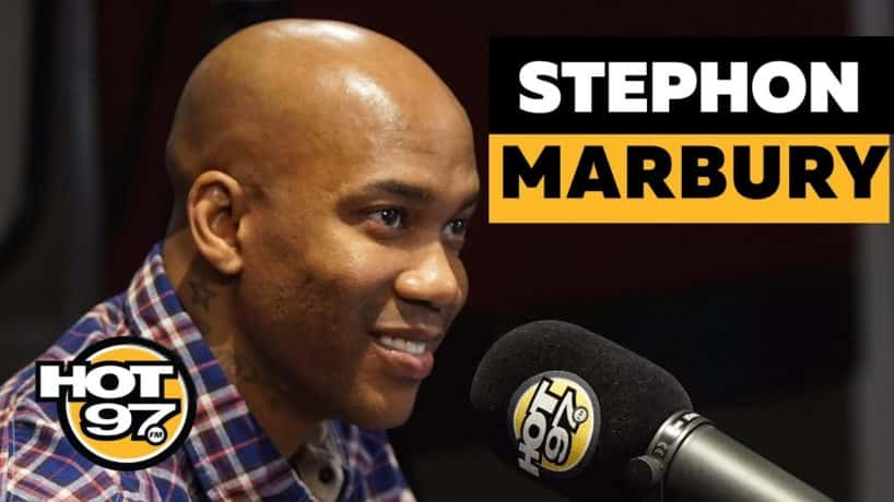 Stephon Marbury Sits Down With Ebro in the Morning