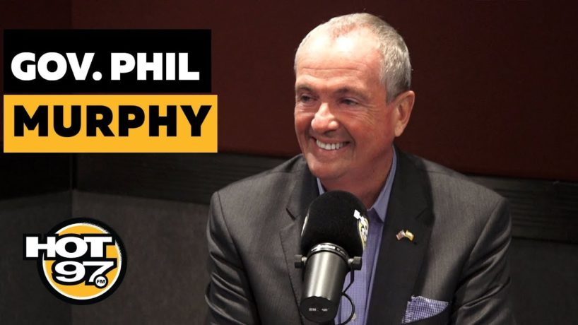Governor Phil Murphy With Ebro in the Morning