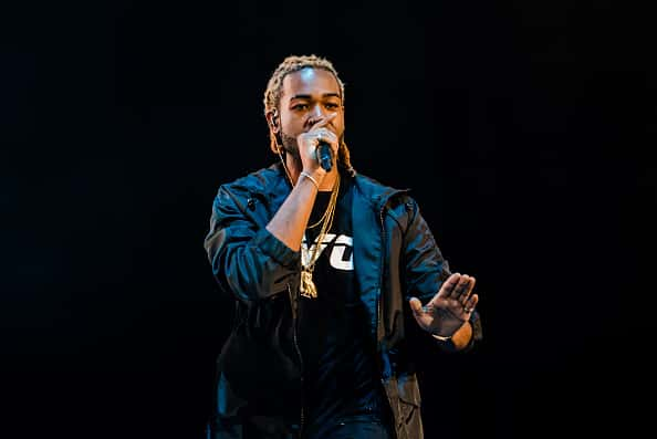 PartyNextDoor performs during 2015 OVO Fest at Molson Canadian Amphitheatre on August 3, 2015 in Toronto, Canada.