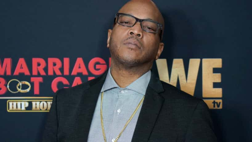 Styles P. looking at the camera