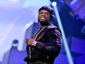 LAS VEGAS, NV - SEPTEMBER 20: Recording artist Curtis '50 Cent' Jackson of the music group G-Unit performs onstage during the 2014 iHeartRadio Music Festival at the MGM Grand Garden Arena on September 20, 2014 in Las Vegas, Nevada.