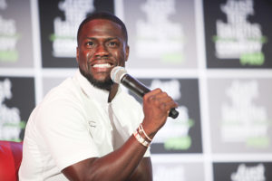 MONTREAL, QC - JULY 29: Actor, Comedian Kevin Hart attends Just For Laughs Comedy PRO with his Laugh Out Loud Network Pitch Panel held at The Hyatt Regency Montreal on July 29, 2016 in Montreal, Canada.