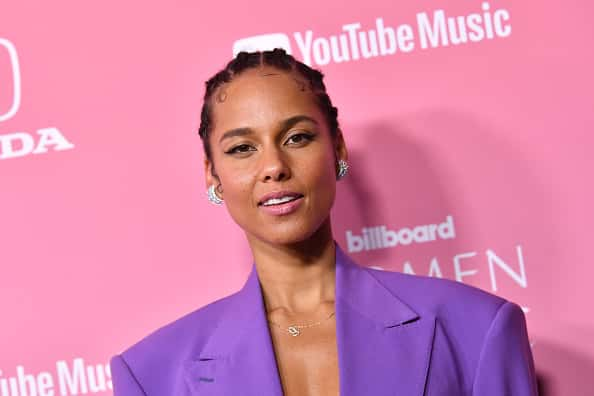 Alicia Keys attends Billboard Women In Music 2019, presented by YouTube Music, on December 12, 2019 in Los Angeles, California.