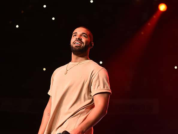 ATLANTA, GA - JUNE 20: Drake performs onstage at Hot 107.9 Birthday Bash Block Show at Phillips Arena on June 20, 2015 in Atlanta, Georgia.
