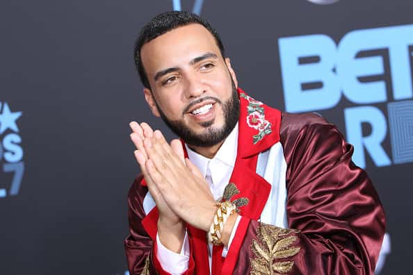 LOS ANGELES, CA - JUNE 25: Music artist French Montana arrives at the 2017 BET Awards at Microsoft Theater on June 25, 2017 in Los Angeles, California.