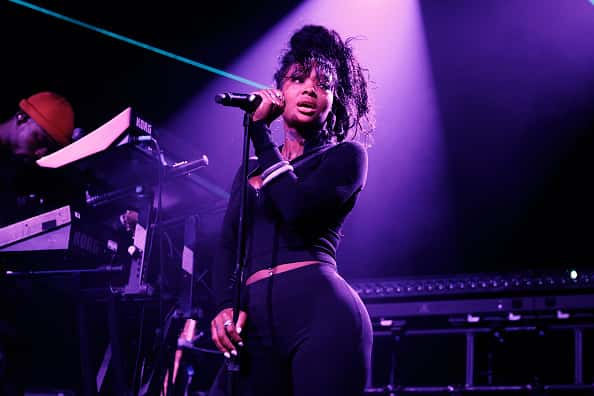 Summer Walker performs on stage at Electric Brixton on October 20, 2019 in London, England.