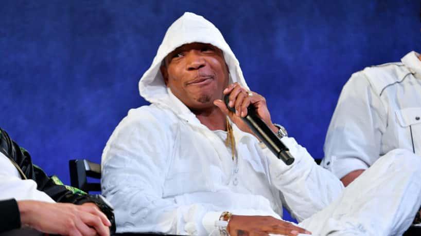 Ja Rule wearing white