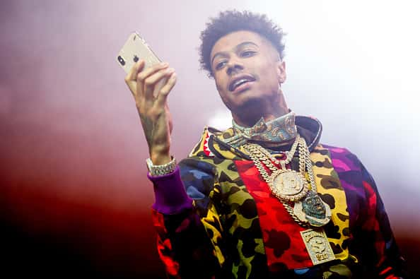 Blueface Hosts Stripper Party Turned Brawl Manager Wack 100 Reacts Hot97