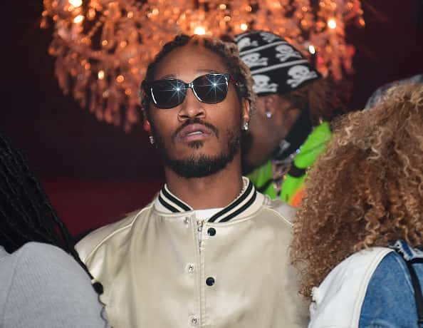 """Rapper Future attends Lil Baby Album Release Party for """"My Turn"""" at Compound on February 29, 2020 in Atlanta, Georgia"""