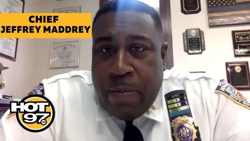 Chief Jeffrey Maddrey