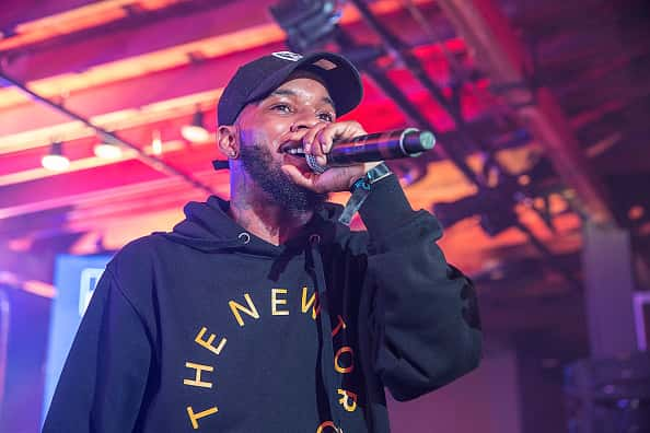 AUSTIN, TX - MARCH 17: Tory Lanez takes the stage at the Bud Light Factory during the Interscope Showcase on March 17, 2016 in Austin, Texas. Bud Light Americas most popular and inclusive beer brand, and first time sponsor of South By Southwest® transformed Austins Brazos Hall into the Bud Light Factory, bringing exclusive performances to SXSW attendees from March 16-19.