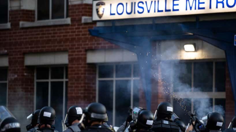 Louisville Metro police station