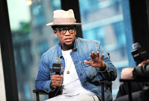 NEW YORK, NY - JUNE 07: Actor D.L. Hughley discusses his new book, 'Black Man, White House: An Oral History of the Obama Years' during AOL Build Speaker Series at AOL Studios In New York on June 7, 2016 in New York City.