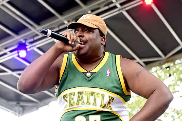 PHILADELPHIA, PA - SEPTEMBER 01: Stepa J. Groggs of Injury Reserve performs on the Skate Stage during the 2018 Made In America Festival - Day 1 at Benjamin Franklin Parkway on September 1, 2018 in Philadelphia, Pennsylvania.