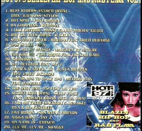 Hot 97 Blazin Hip Hop & R&B Vol. 1