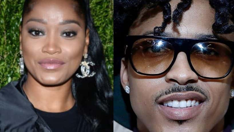 Keke Palmer and August Alsina
