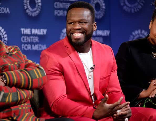 """Curtis """"50 Cent"""" Jackson speaks onstage during the Power Series Finale Episode Screening at Paley Center on February 07, 2020 in New York City."""