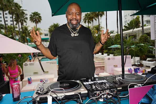 Biz Markie performs onstage during BACARDI's Big Game Party at Surfcomber Hotel on February 01, 2020 in Miami Beach, Florida.