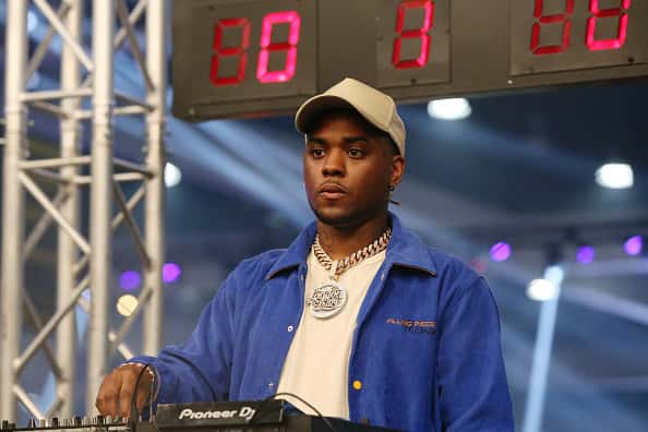 London on da Track DJs the 2019 BET Experience Celebrity Dodgeball Game at Staples Center on June 21, 2019 in Los Angeles, California.