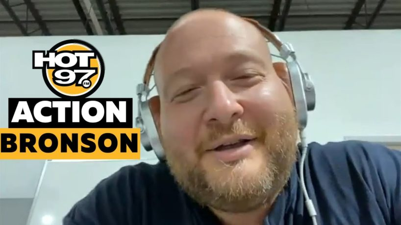 Action Bronson On Weight Loss, New Music w. Ebro in the morning