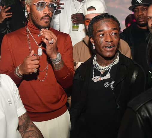 Rapper Future and Lil Uzi Vert attend Forever or Never Birthday Celebration on November 21, 2019 in Atlanta, Georgia.