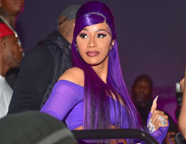 MIAMI, FL - FEBRUARY 02: Cardi B attends The Big Game Weekend at The Dome Miami on February 2, 2020 in Miami, Florida