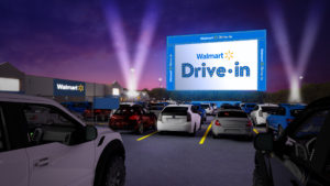 Walmart Drive-In Event