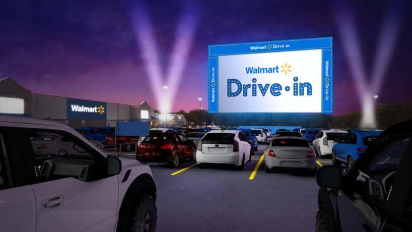 Walmart Drive-In Event