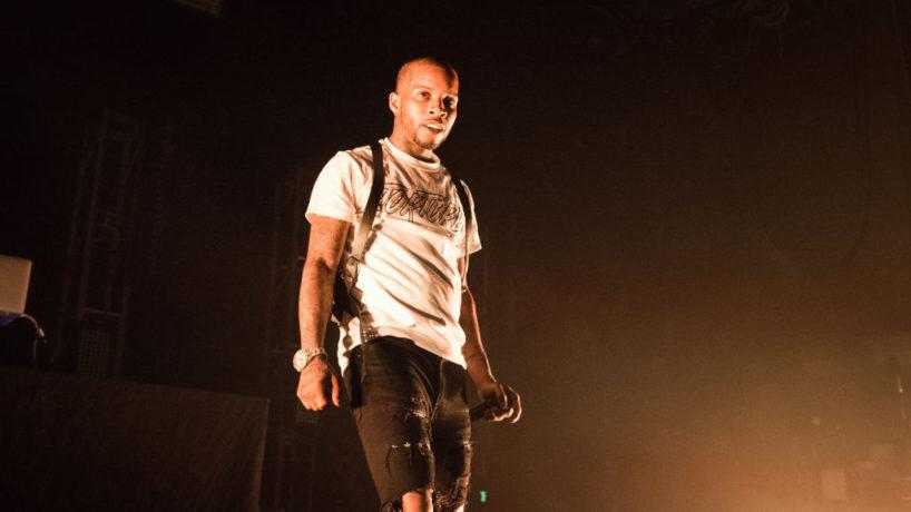 PARIS, FRANCE - SEPTEMBER 29: Tory Lanez performs at Elysee Montmartre on September 29, 2018 in Paris, France.