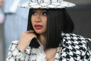 PARIS, FRANCE - OCTOBER 01: Cardi B attends the Chanel Womenswear Spring/Summer 2020 show as part of Paris Fashion Week on October 01, 2019 in Paris, France.