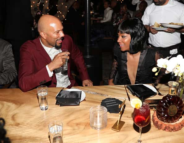 WEST HOLLYWOOD, CA - MARCH 02: Common and Tiffany Haddish attend Toast To The Arts Presented by Remy Martin on March 2, 2018 in West Hollywood, California.