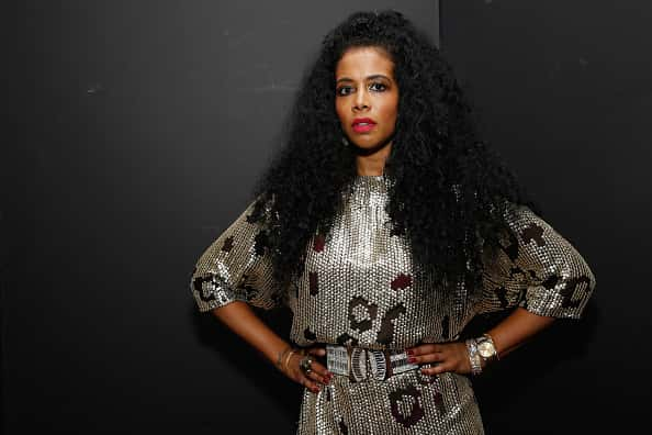 """NEW YORK, NY - JUNE 12: Singer Kelis attends as SMIRNOFF Vodka and Spotify throw one lucky winner the """"Ultimate House Party"""" with special performances by Kelis and JayCeeOh on June 12, 2014 in New York City."""