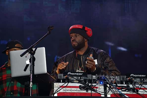 FunkFlex performs onstage at the 2017 Hot for the Holidays concert at Prudential Center on December 14, 2017 in Newark, New Jersey.