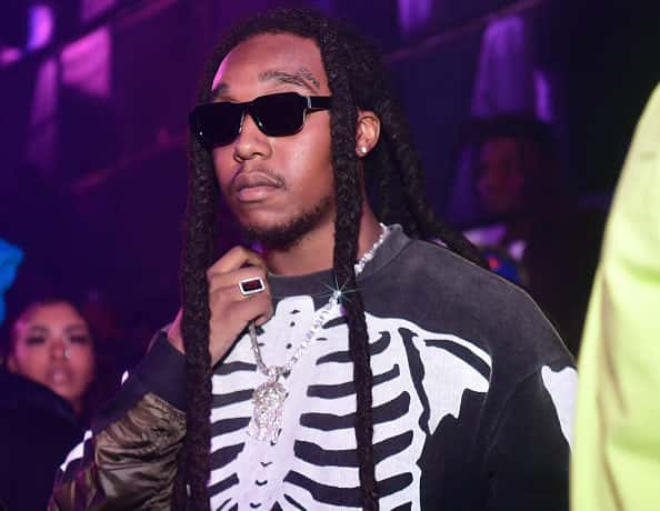 Takeoff of the group Migos attend Hawks vs Nets After Party at Gold Room on February 28, 2020 in Atlanta, Georgia.