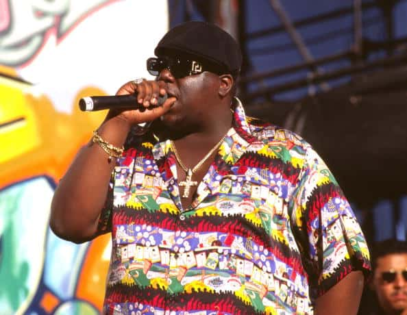 Notorious B.I.G. 1995 during Music File Photos 1990's in Los Angeles, California.