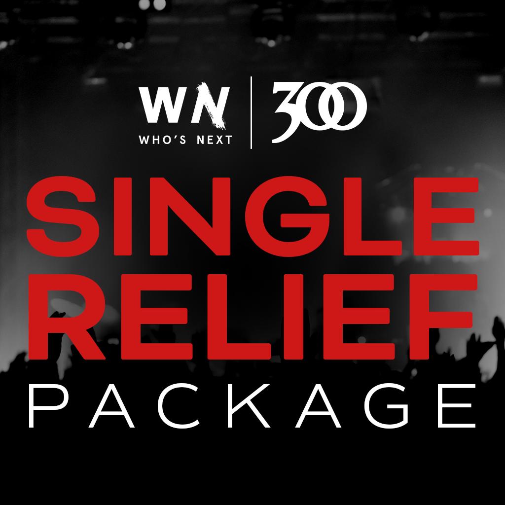 300 Single relief