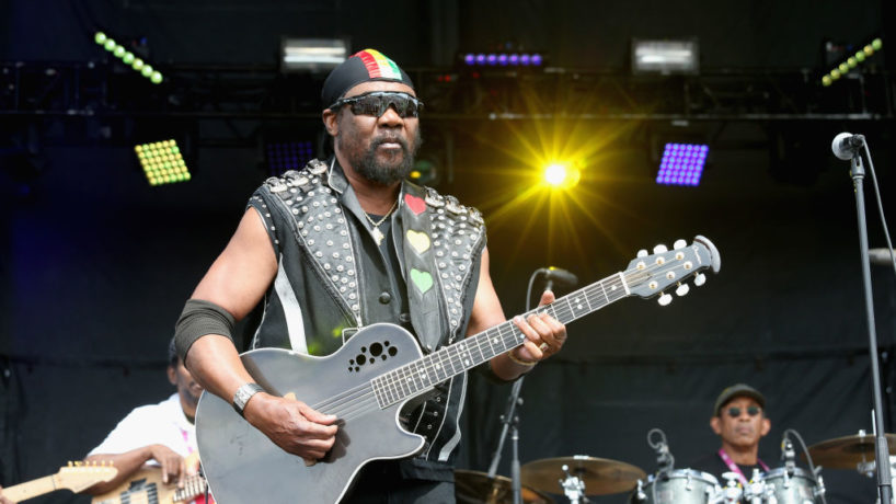 DEL MAR, CALIFORNIA - SEPTEMBER 15: Toots Hibbert of Toots and the Maytals performs in concert during the 2019 KAABOO Del Mar at Del Mar Race Track on September 15, 2019 in Del Mar, California.