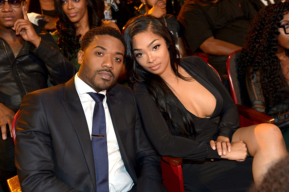 ATLANTA, GA - OCTOBER 09: Singer Ray J and TV personality Princess Love attend the BET Hip Hop Awards Show 2015 at the Atlanta Civic Center on October 9, 2015 in Atlanta, Georgia.