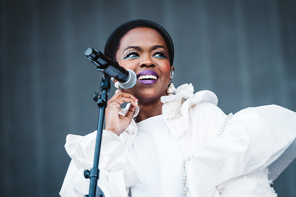 MADRID, SPAIN - JULY 11: Lauryn Hill performs on stage during day 1 of Madcool Festival on July 11, 2019 in Madrid, Spain.